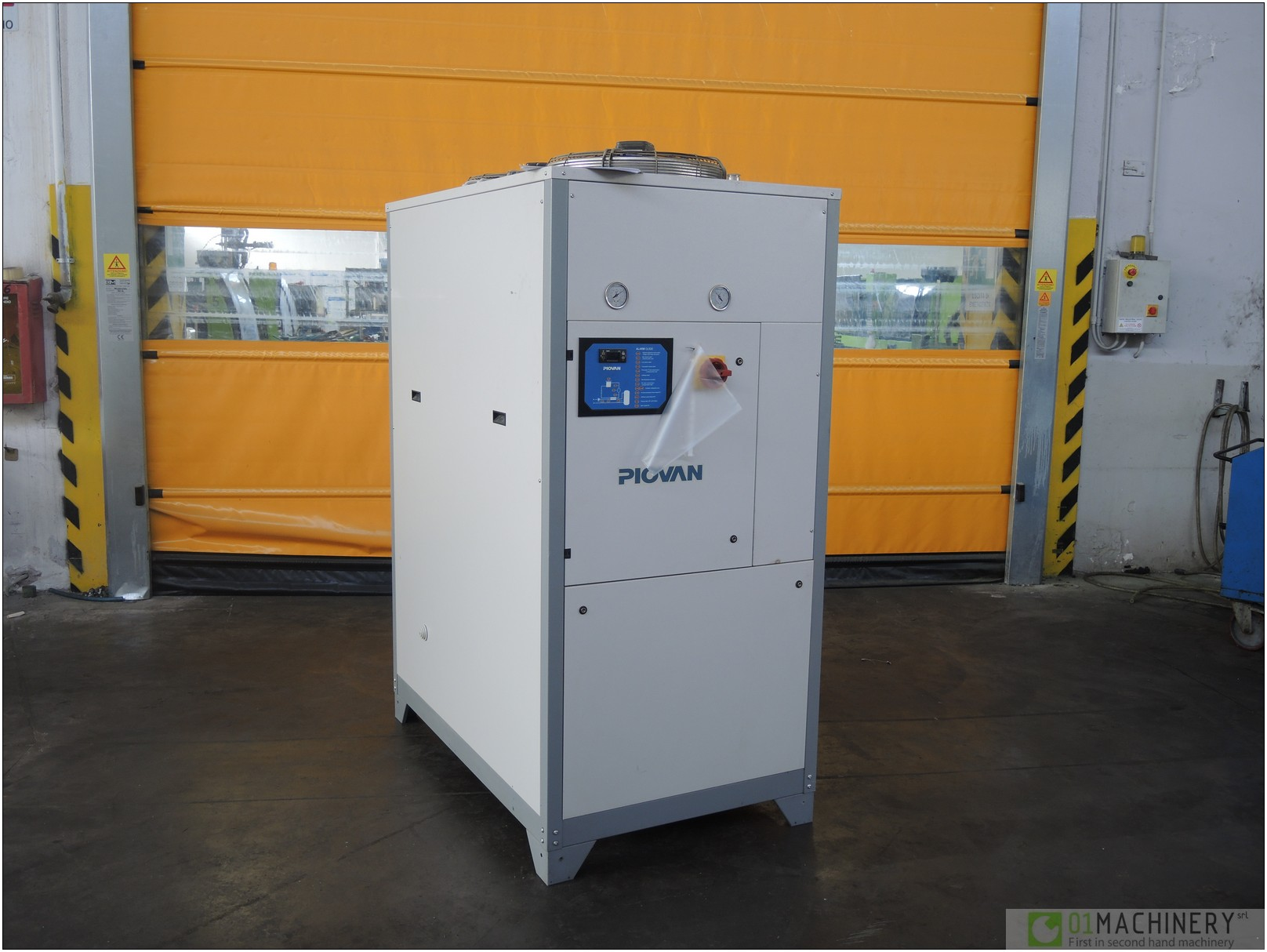 Piovan Ch 380 Ac Pv 000 14 Used Chillers Machinery