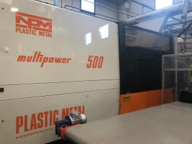 NUOVA PLASTIC METAL MULTIPOWER 500 In 7707  500 11